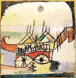 Sphinxartig ('En forme de Sphinx', 1919)
