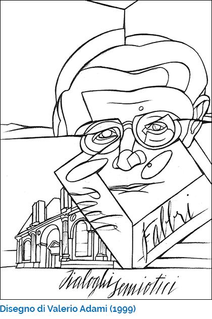 Disegno di Valerio Adami