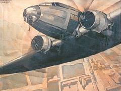 Tato (Guglielmo Sansoni), 'Immagine per il Manifesto tecnico dell'Aeropittura' (1930)