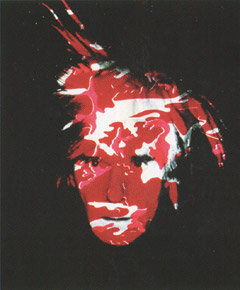 Andy Warhol, 'Self Portrait with Camouflage' (1986)