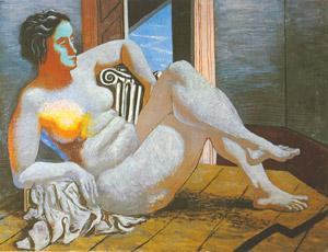 Giorgio De Chirico, 'Nudo di donna' (1927)