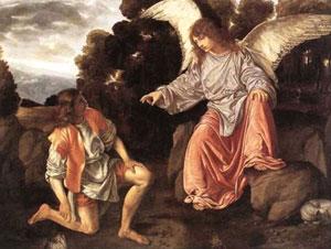 Girolamo Savoldo, 'Tobiolo e l'angelo' (1542)