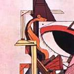 Giorgio De Chirico, 'L'angelo ebreo' (1916), particolare