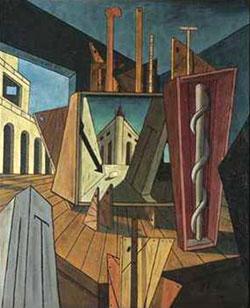 Giorgio De Chirico, 'Interno metafisico' (1917)