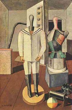 Carlo Carrà, 'La madre' (1917)