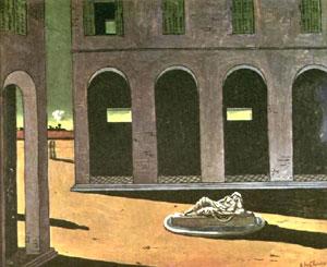 Giorgio De Chirico, 'Piazza d'Italia' (1912)
