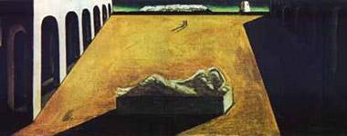 Giorgio De Chirico, 'La stanchezza dell'infinito' (1912)