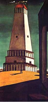 Giorgio De Chirico, 'La nostalgia dell'infinito' (1911)