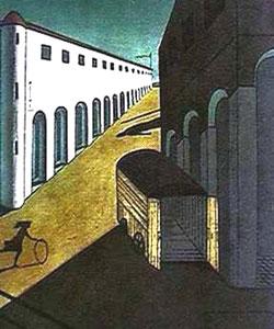 Giorgio De Chirico, 'Mistero e melanconia di una strada' (1914)