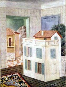 Giorgio De Chirico, 'La maison aux volets verts' (1924)