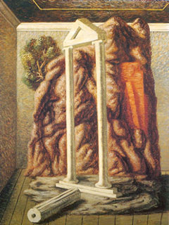 Giorgio De Chirico, 'Colonne nella stanza' (1928)