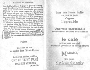 Estratto dal 'Manifesto del Surrealismo' (1924)