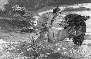 Max Klinger, 'Trasporto di Prometeo' (1894)
