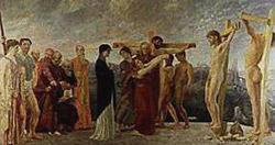 Max Klinger, 'La crocifissione' (1890)