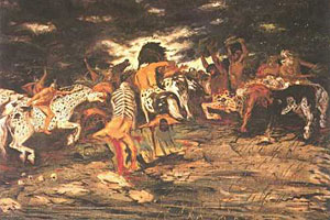 Giorgio De Chirico, 'Lotta di centauri' (1909)