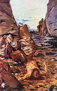Giorgio De Chirico, 'Centauro morente' (1910)