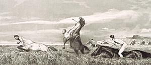 Max Klinger, 'Il centauro fugato' (1881)