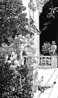 Max Klinger, 'In flagranti' (1883)