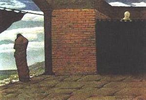 Giorgio De Chirico, 'L'enigma dell'oracolo' (1910)