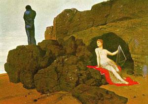Arnold Bocklin, 'Ulisse e Calipso' (1883)
