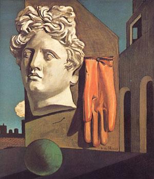 Giorgio De Chirico, 'Canto d'amore' (1914)