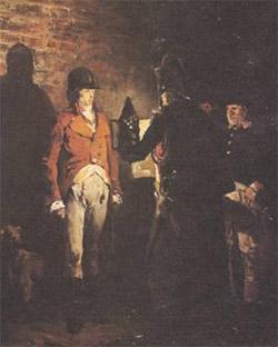 Jean-Paul Laurens, 'Il duca di Enghien' (1873)