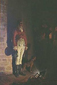 Jean-Paul Laurens, 'La morte del duca di Enghien' (1873)