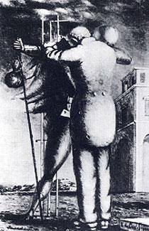Giorgio De Chirico, 'Il ritorno del figliol prodigo' (1924)