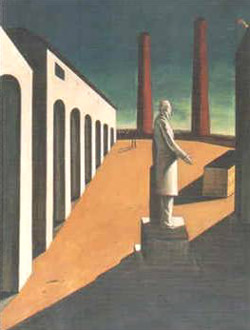 Giorgio De Chirico, 'L'enigma di una giornata' (1914)
