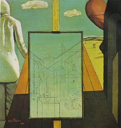 Giorgio De Chirico, 'Il doppio sogno di primavera' (1915)