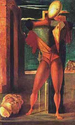 Giorgio De Chirico, 'Il trovatore' (1922)