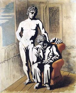 Giorgio De Chirico, 'Il figlio consolatore' (1926)