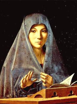 Antonello da Messina, 'L'annunziata' (1473)