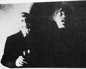 Giorgio De Chirico e Andy Warhol