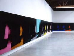 Andy Warhol, 'Shadows' (1979). Acrilico su tela