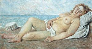 Giorgio De Chirico, 'Arianna abbandonata' (1930-31)