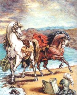 'Due cavalli in riva al mare' (1964)