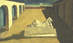 Giorgio De Chirico, 'La solitudine' (1910 o 1920)