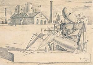 Giorgio De Chirico, 'Solitudine' (1911)