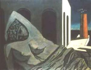 Giorgio De Chirico, 'La statua silenziosa' (1913)