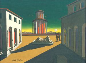 Giorgio De Chirico, 'Piazza d'Italia' (1952)