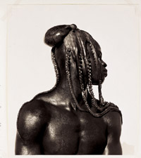 Herb Ritts, 'Djimon with Octopus'