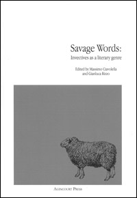 Savage Words. Invectives as a literary genre