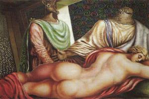 Alberto Savinio, Susanna e i vecchioni