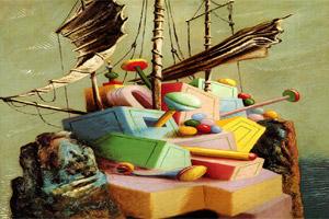 Alberto Savinio, La nave dispersa