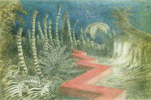 Alberto Savinio, Paesaggio tropicale