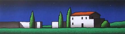Tino Stefanoni, 'Tre cipressi'